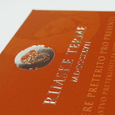 Brošure Rimske terme
