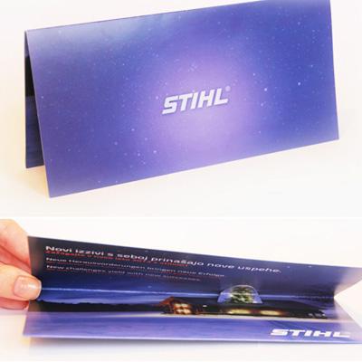 Glückwunschkarte Unicommerce